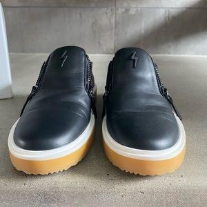 Giuseppe Zanotti Contrast Zip Sneakers Mens 45